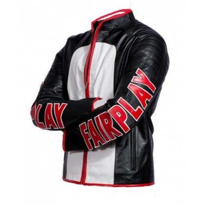MISTER TERRIFIC BIKER LEATHER JACKE..