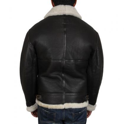 Real Shearling Sheepskin Leather Fl..
