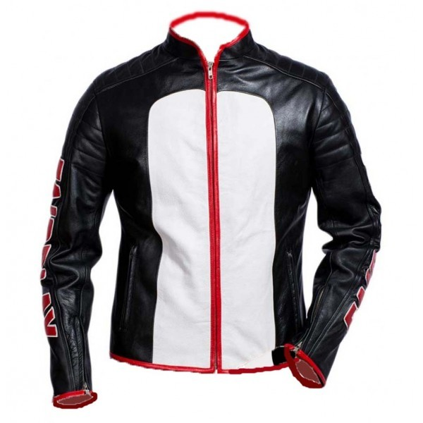 MISTER TERRIFIC BIKER LEATHER JACKET FOR MEN'S , Men's Leather Jacket