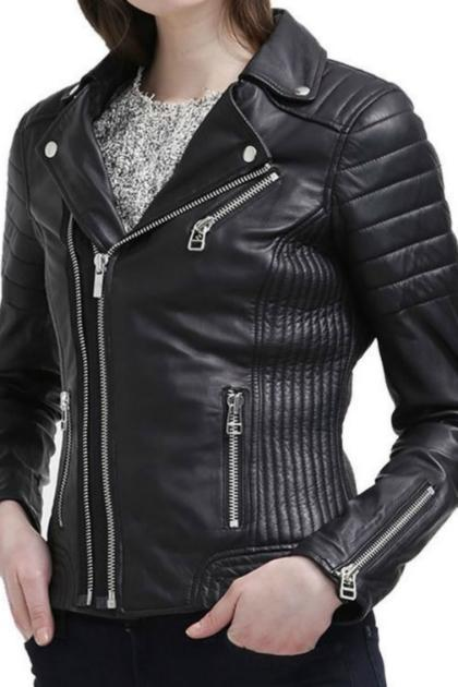 NEW WOMEN'S FASHION LEATHER JACKET 2016